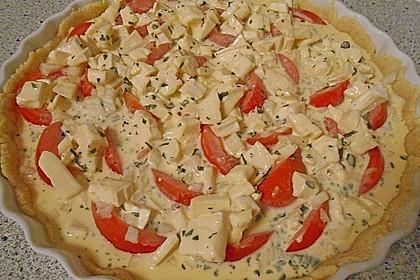 Leichte Tomatentarte mit Camembert 79