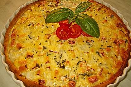 Leichte Tomatentarte mit Camembert 1