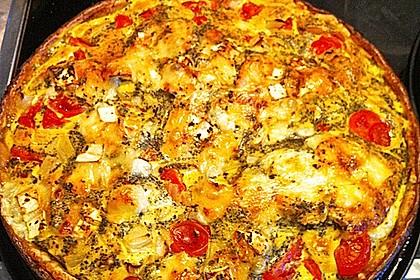 Leichte Tomatentarte mit Camembert 84