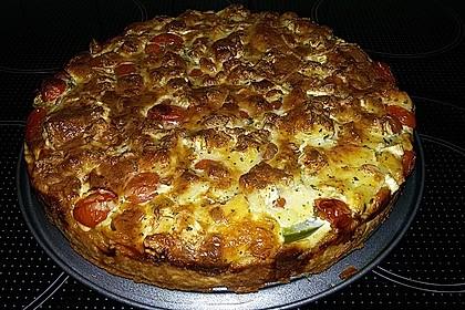 Leichte Tomatentarte mit Camembert 59