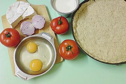 Leichte Tomatentarte mit Camembert 25
