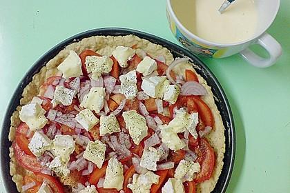 Leichte Tomatentarte mit Camembert 40