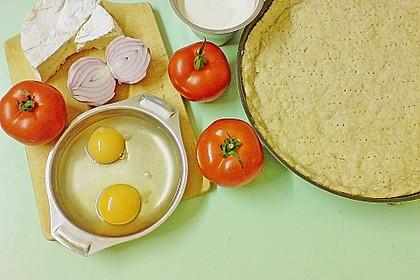 Leichte Tomatentarte mit Camembert 103