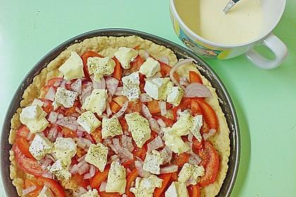 Leichte Tomatentarte mit Camembert 88