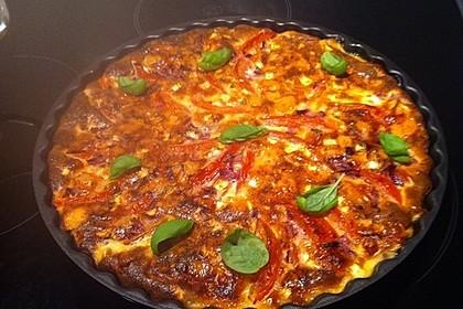 Leichte Tomatentarte mit Camembert 54