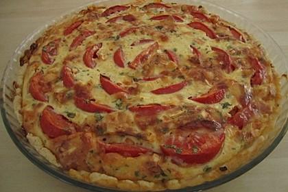 Leichte Tomatentarte mit Camembert 31