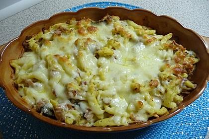 Käse-Spätzle-Auflauf 7