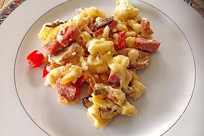Käse-Spätzle-Auflauf 12