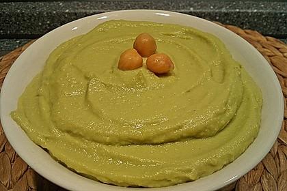 Schneller Avocado - Dip mit Kichererbsen 2