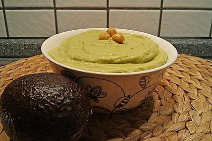 Schneller Avocado - Dip mit Kichererbsen 1