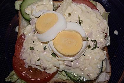 Eiersalat mit Spargel und Ananas 2