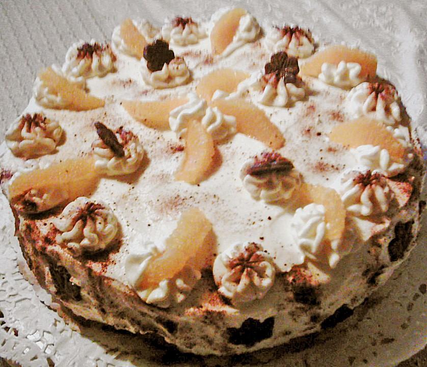 Orangen Mascarpone Torte Ohne Backen Von Alina1st Chefkoch De