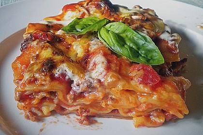 Idiotensichere Lasagne