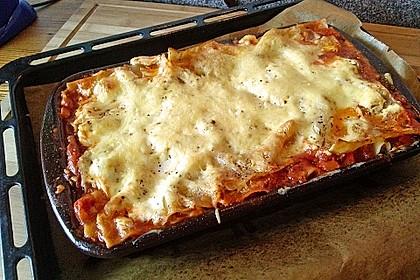 Idiotensichere Lasagne 9