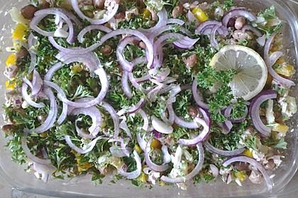 Thunfischsalat mit dicken weißen Bohnen 2