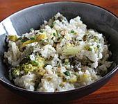 Brokkoli - Risotto mit Ziegenkäse (Bild)