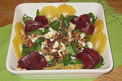 Rote Bete-Salat mit Ziegenkäse 14