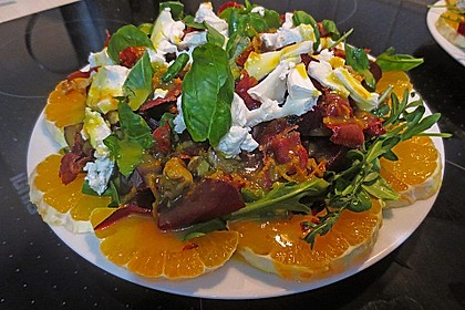 Rote Bete-Salat mit Ziegenkäse 9