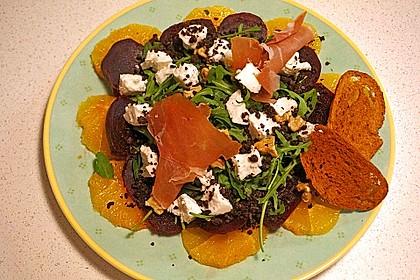 Rote Bete-Salat mit Ziegenkäse 11