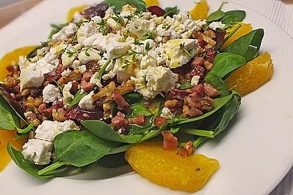 Rote Bete-Salat mit Ziegenkäse 4