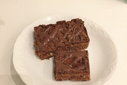 American Double Choc Brownies 209