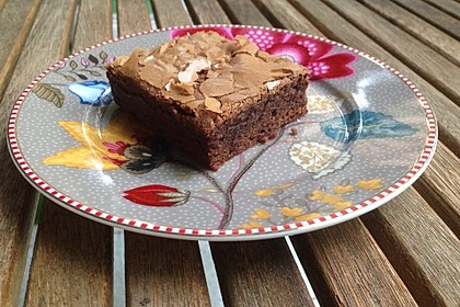 American Double Choc Brownies 20