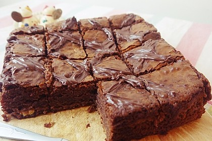 American Double Choc Brownies 26