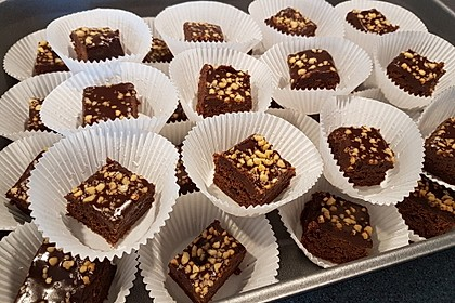 American Double Choc Brownies 13