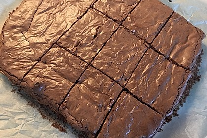 American Double Choc Brownies 83