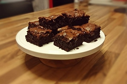 American Double Choc Brownies 79