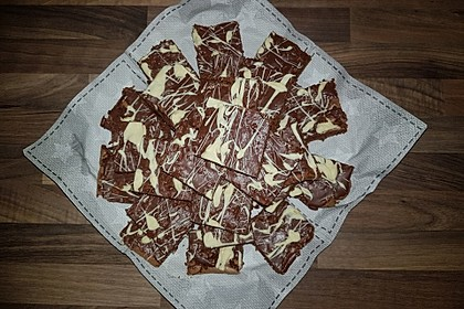 American Double Choc Brownies 60