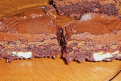American Double Choc Brownies 178
