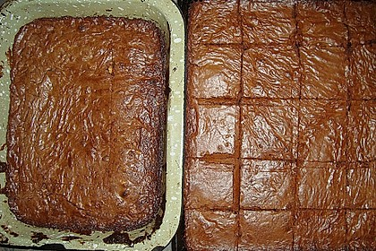 American Double Choc Brownies 183