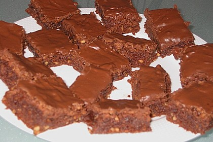 American Double Choc Brownies 179