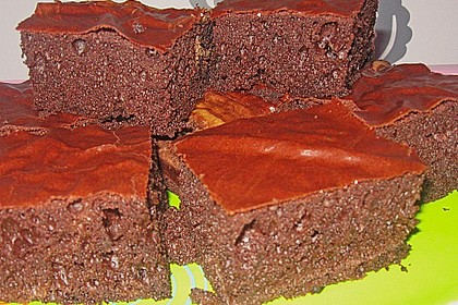 American Double Choc Brownies 97
