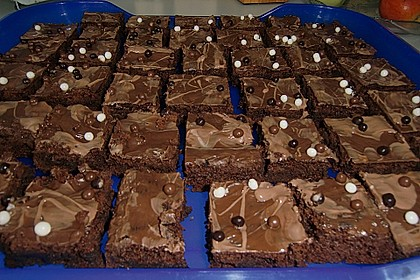 American Double Choc Brownies 24