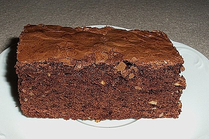 American Double Choc Brownies 36