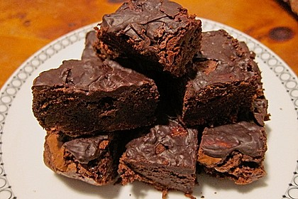 American Double Choc Brownies 99