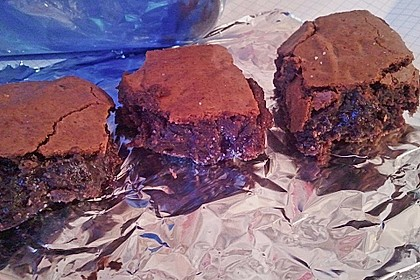 American Double Choc Brownies 165