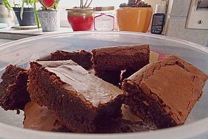 American Double Choc Brownies 132