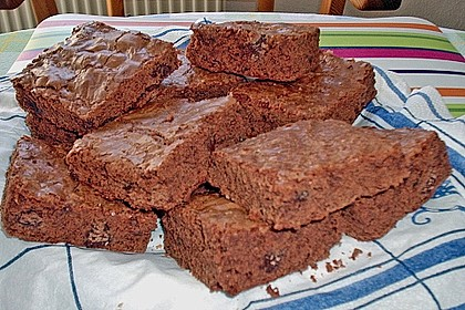 American Double Choc Brownies 125