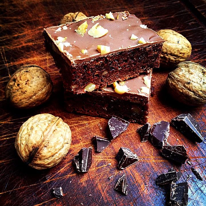 American Double Choc Brownies Von Dawomb Chefkoch De