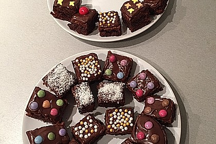 American Double Choc Brownies 48