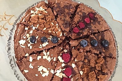 American Double Choc Brownies 74