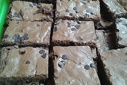 American Double Choc Brownies 215