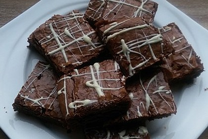 American Double Choc Brownies 155