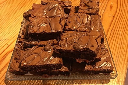 American Double Choc Brownies 149