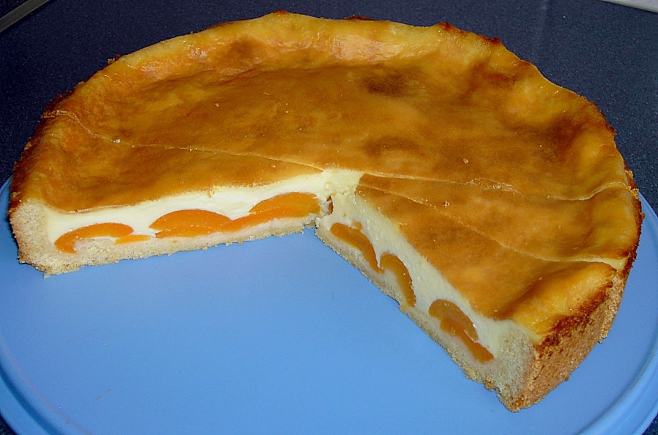 Puddingkuchen Mit Aprikosen Von Lucylaus Chefkoch De