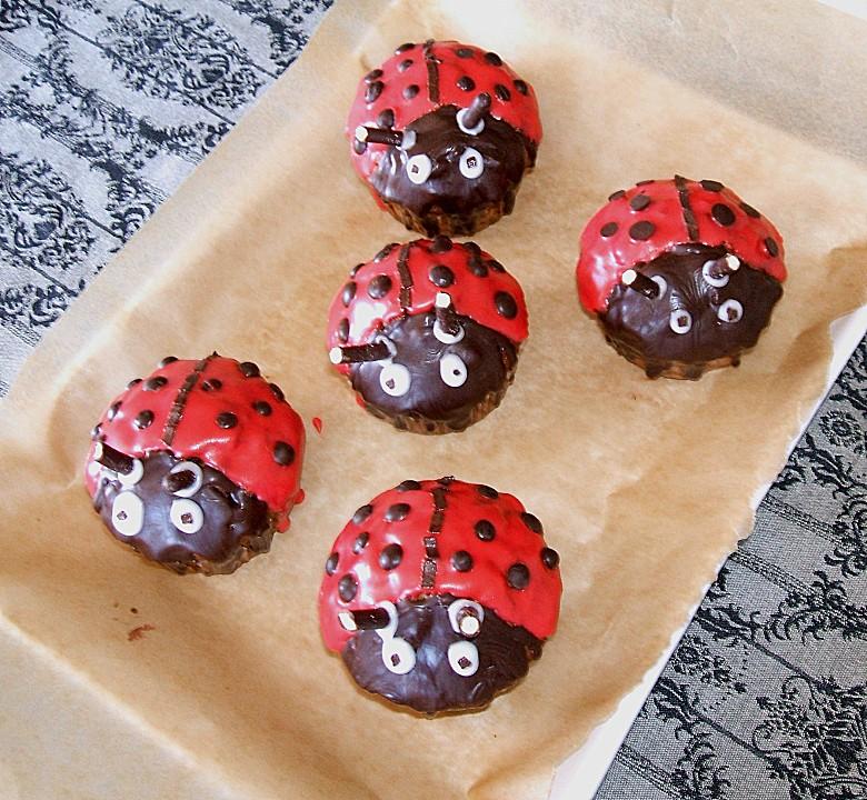 Marienkafer Muffins Von Charima Chefkoch De