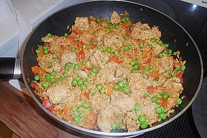 Hähnchen Paella 50